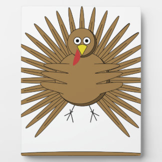 Cartoon Turkey Plaque