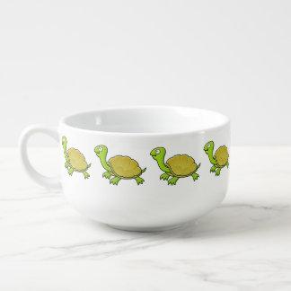 Cartoon Turtle Soup Mug