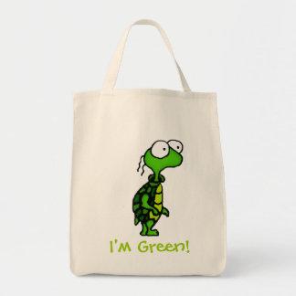Cartoon Turtle Tote Bag