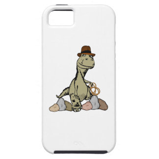 Cartoon Tyrannosaurus Dinosaur Explorer iPhone 5 Cover