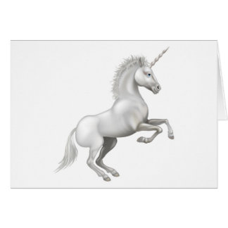 Cartoon Unicorn Card