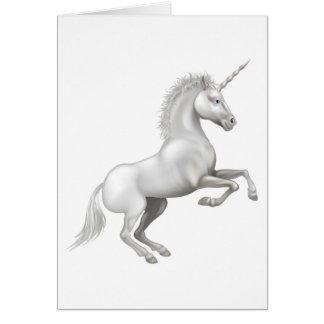 Cartoon Unicorn Greeting Cards