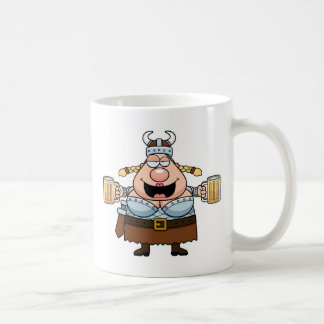 Cartoon Valkyrie Coffee Mug