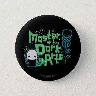 Cartoon Voldemort - Master of the Dark Arts 2 Inch Round Button