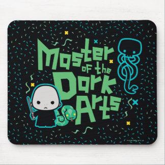 Cartoon Voldemort - Master of the Dark Arts Mouse Pad