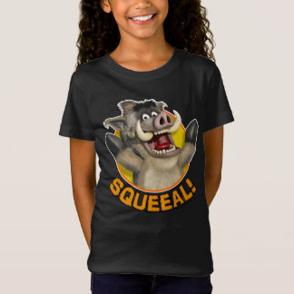 Cartoon Warthog Kids' T-shirt for girls