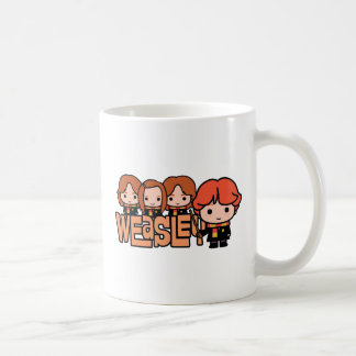 Cartoon Weasley Siblilings Graphic Coffee Mug