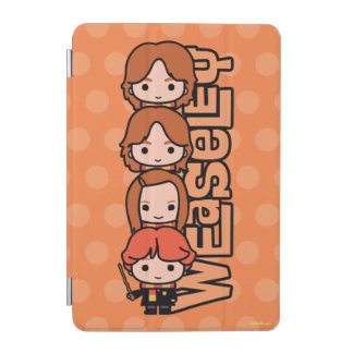 Cartoon Weasley Siblilings Graphic iPad Mini Cover