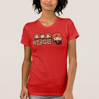 Cartoon Weasley Siblilings Graphic T-Shirt