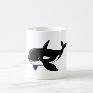cartoon whale White 11 oz Classic Mug