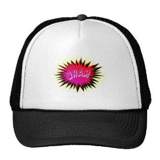 Cartoon Wham Trucker Hat