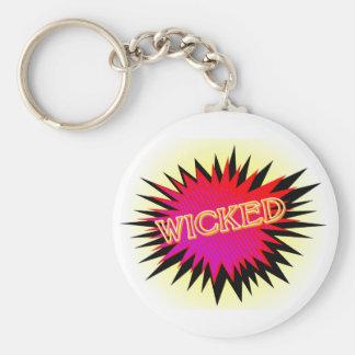 Cartoon Wicked Keychain