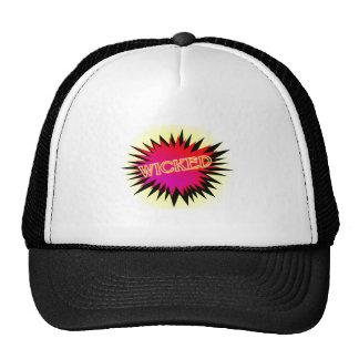 Cartoon Wicked Trucker Hat
