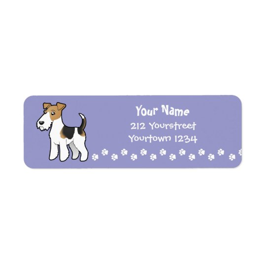 Cartoon Wire Fox Terrier