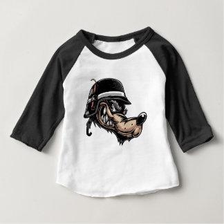 Cartoon Wolf Baby T-Shirt