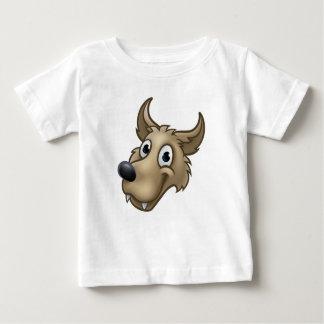 Cartoon Wolf Character Mascot Baby T-Shirt