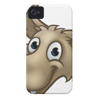 Cartoon Wolf Character Mascot Case-Mate iPhone 4 Cases