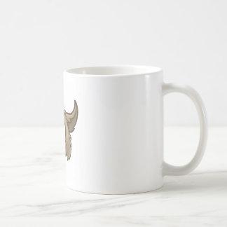 Cartoon Wolf Character Mascot Coffee Mug