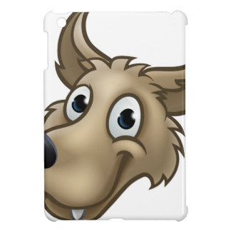 Cartoon Wolf Character Mascot iPad Mini Covers