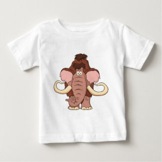Cartoon Woolly Mammoth Baby T-Shirt