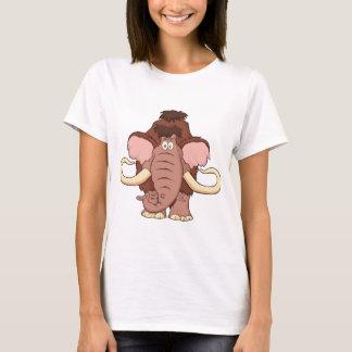 Cartoon Woolly Mammoth T-Shirt