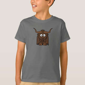 Cartoon Yak - Kids T-Shirt