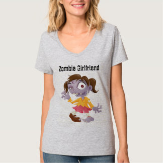Cartoon Zombie Girlfriend T-Shirt