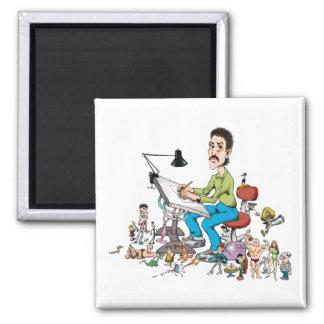 Cartoonist Magnet
