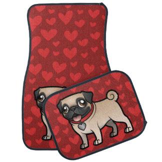 Cartoonize My Pet Car Mat