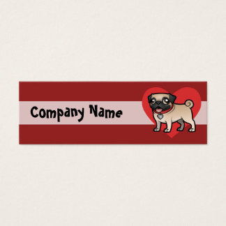 Cartoonize My Pet Mini Business Card