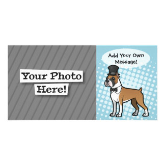 Cartoonize My Pet Photo Card
