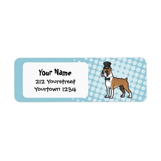Cartoonize My Pet Return Address Label