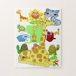 Cartoons Wonderland Jigsaw Puzzle