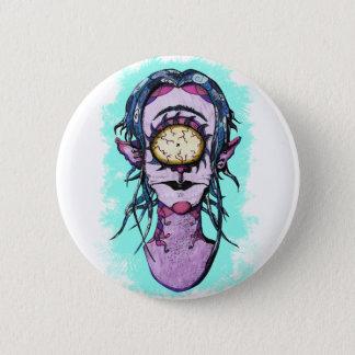 Cartoony Cyclops Button