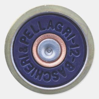 Cartridge Classic Round Sticker