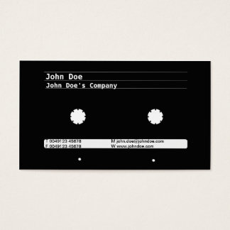 Cartridge Design Business Card
