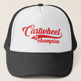 Cartwheel Champion Trucker Hat
