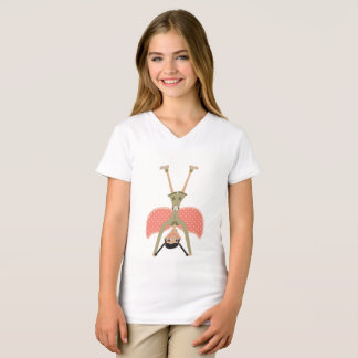 Cartwheel Fairy Angel Olive Outfit Tshirt