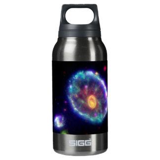 Cartwheel Galaxy Insulated Water Bottle