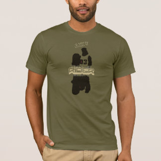 carve Army green Rider T-Shirt