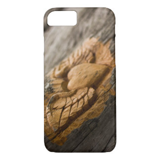 Carved Heart with Wings iPhone 8/7 Case