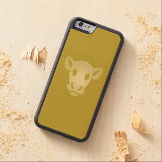 Carved® iPhone 6/6s Wood Case - Stylized Cow Bull
