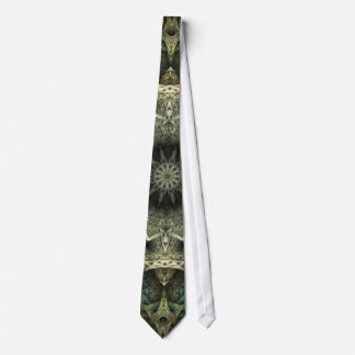 Carved Ivory & Green 2 Tie