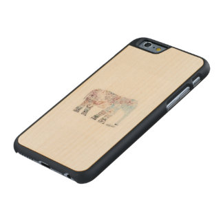 CARVED MAPLE iPhone 6 CASE