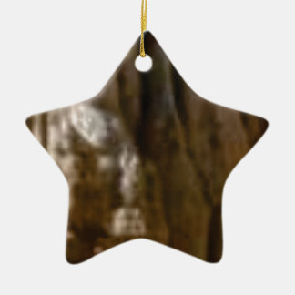 carved muscles in rock ceramic ornament