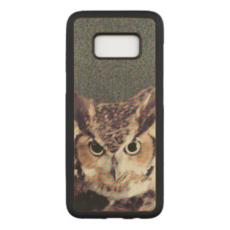 Carved® Samsung Galaxy S8 Wood Case - Owl