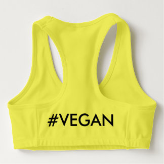 Carved Up Vegan Sports Bra