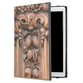 Carved Wood iPad Pro Case