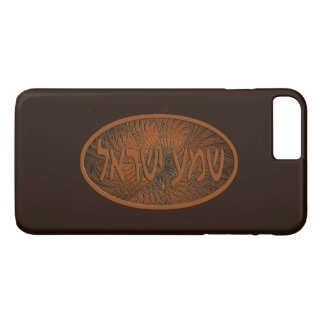 Carved Wood Shema Yisrael iPhone 7 Plus Case