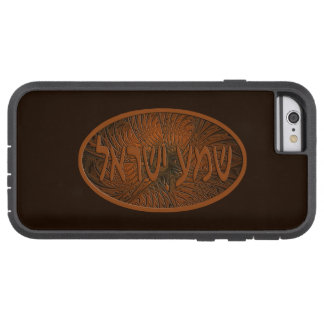 Carved Wood Shema Yisrael Tough Xtreme iPhone 6 Case